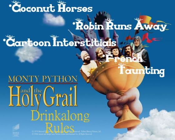 Monty Python Drinkalong Rules