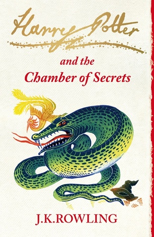 Chamber of Secrets Pottermore Cover